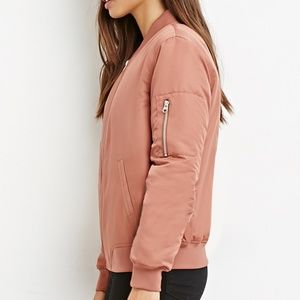 Rose gold jacket